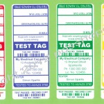 Electrical Test Tag Australian Standards