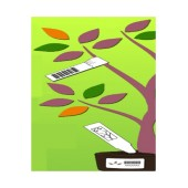 White Synthetic Tree Tags